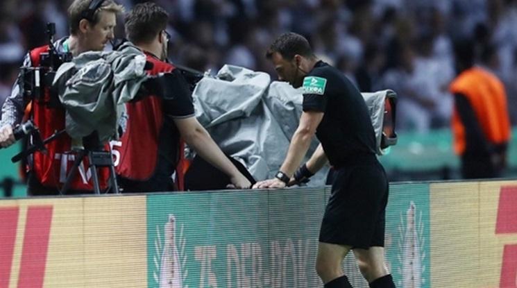 УЕФА въвежда по-дебели линии за ВАР системите