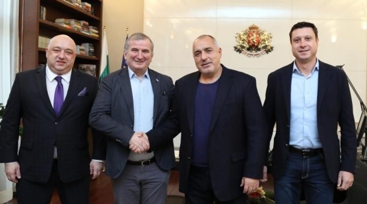 Бойко Борисов: Държавата е готова да помогне на Левски