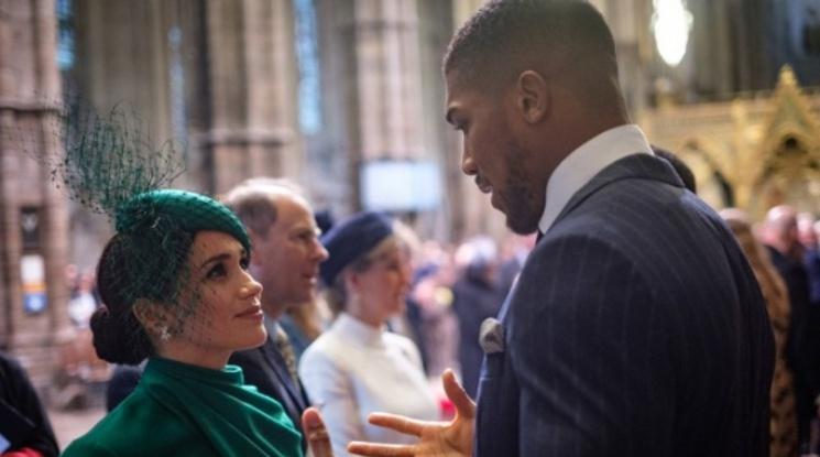 Джошуа изнесе реч пред кралица Елизабет II
