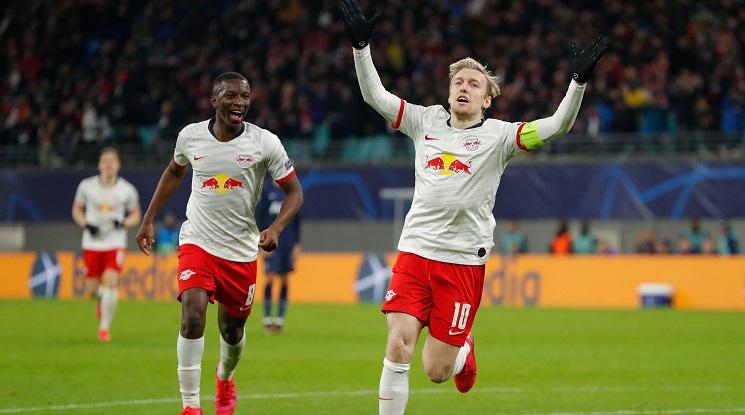Лайпциг и Аталанта са първите 1/4-финалисти в Шампионска лига (видео)