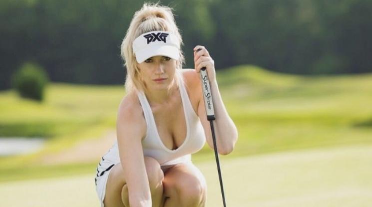 Не допуснаха голфърка на благотворителен турнир, защото е прекалено секси