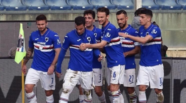 Седем футболисти на Сампдория с положителни тестове за коронавирус