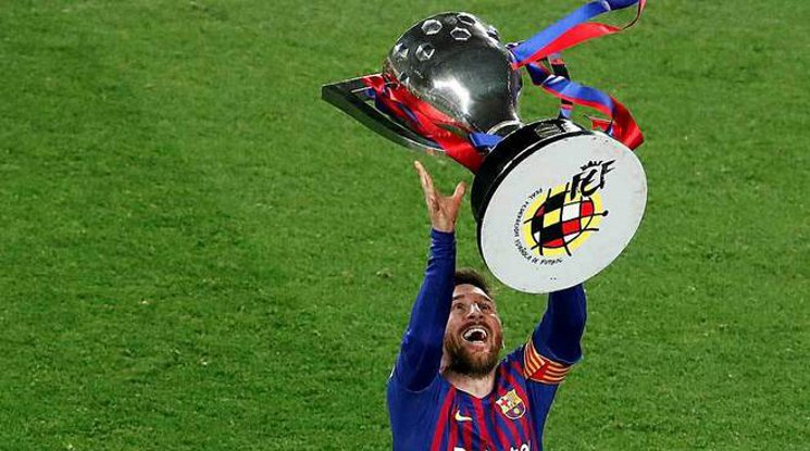 Барселона ще поиска титлата, ако сезонът не завърши