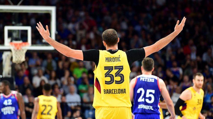 Миротич е съгласен с намаляването на заплатите в Барселона