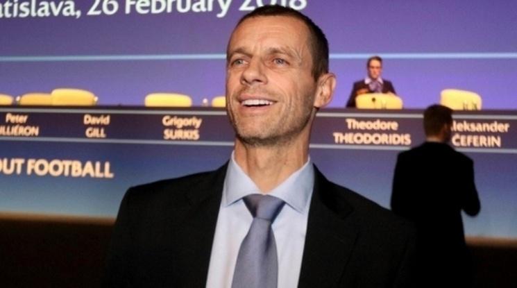 Президентът на УЕФА: Ако до края на юни първенствата не започнат, сезонът ще бъде провален
