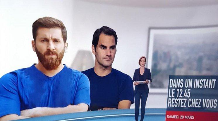 Френска телевизия с голям гаф за Меси
