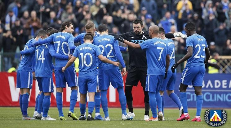 В Левски разчитат на самодисциплината на футболистите