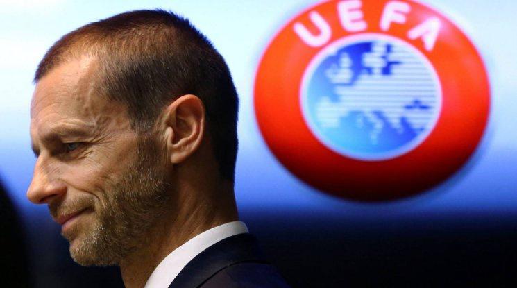 Президентът на УЕФА обяви кога може да очакваме подновяването на първенствата