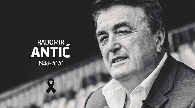 Почина сръбската легенда Радомир Антич