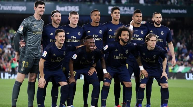 В Реал също си намалиха заплатите