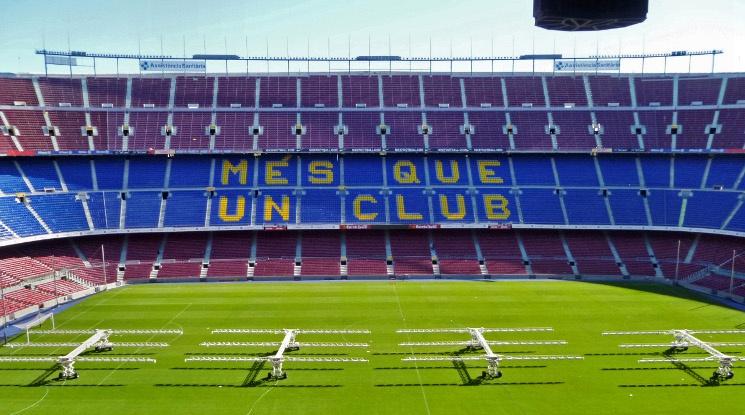 Барса сменя името на стадиона си