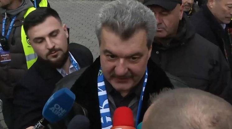 Батков: Акциите на Левски в момента са ничия собственост