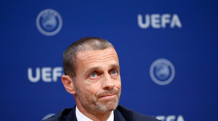 Чеферин: Решението за край на френското първенство беше взето прекалено рано