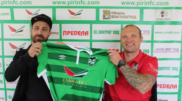 Официално: Николай Бодуров подписа с Пирин