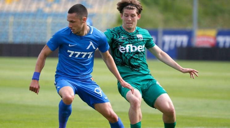 "Левски надигра Витоша в контрола на ""Герена"""