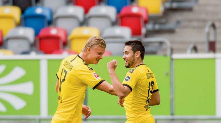 Холанд донесе измъчен успех на Дортмунд в Дюселдорф (репортаж)