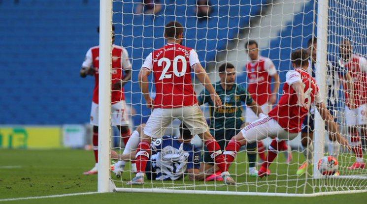 Брайтън с пълен обрат срещу Арсенал след гол в 95-ата минута
