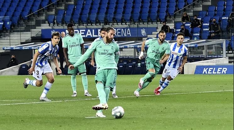 Реал Мадрид взе много важен тест в борбата за титлата (видео)