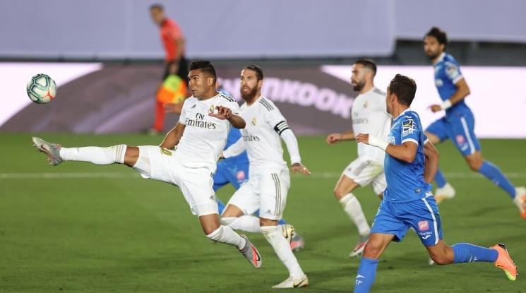 Реал Мадрид с нова крачка към титлата (видео)