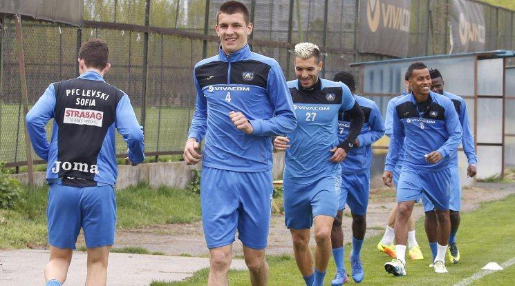 Групата на Левски за мача със Славия