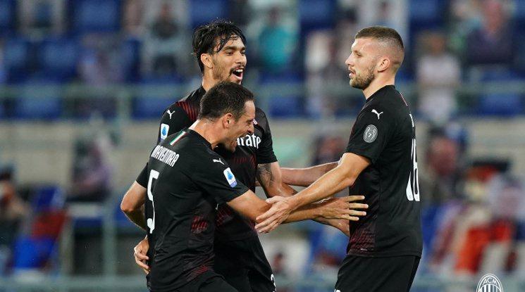 Милан отдалечи Лацио от титлата (видео)