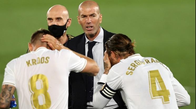 Реал Мадрид с нова решителна стъпка към титлата (видео)
