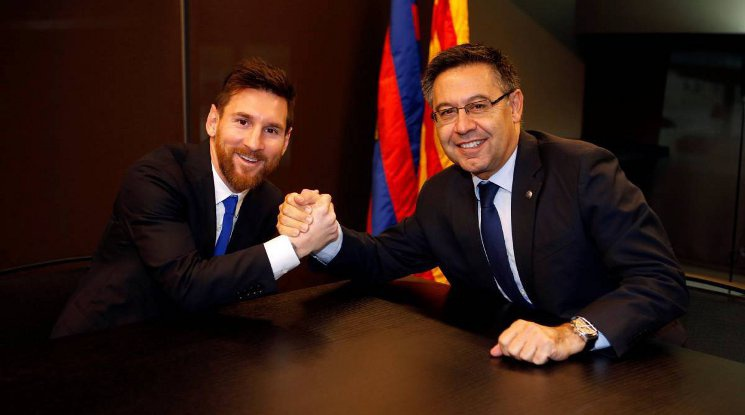 Бартомеу: Меси каза, че ще приключи футболната си кариера в Барса