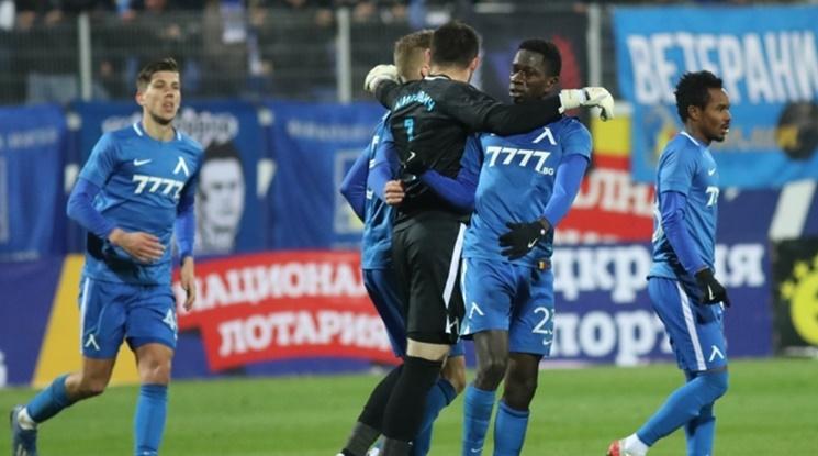 Групата на Левски за мача с Лудогорец