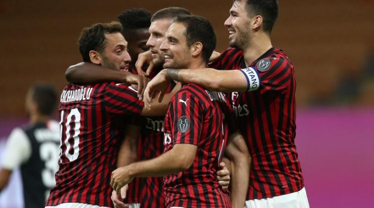 Милан сътвори феноменален обрат срещу Ювентус (видео)