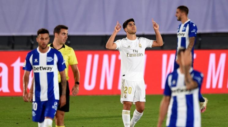 Реал Мадрид с нова важна крачка към титлата (видео)
