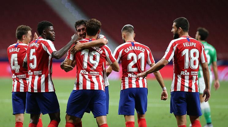 Атлетико с поредна икономична победа в Ла лига (видео)