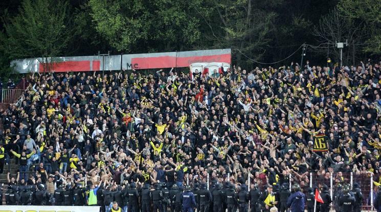 Ботев поиска публика за плейофа със Славия