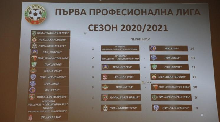 Първа лига започва със сблъсък ЦСКА 1948 - ЦСКА София