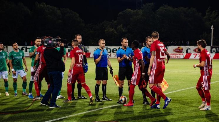 ЦСКА победи Литекс в секретна контрола