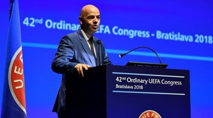 ФИФА отпуска 1,5 млрд. долара на федерациите за справяне с Covid-19