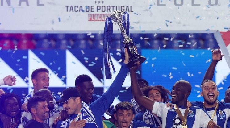 Порто спечели още един домашен трофей (видео)