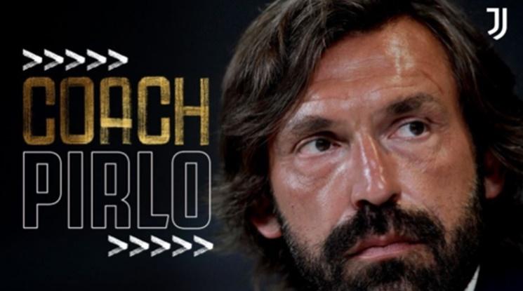Официално: Ювентус заложи на Андреа Пирло