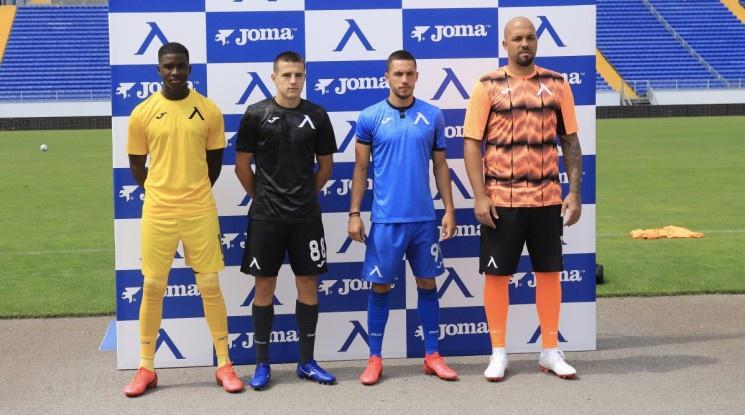Левски представи новите екипи за сезон 2020/21