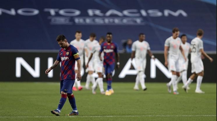 Байерн разформирова Барселона! Баварците разбиха каталунците с 8:2! (видео)