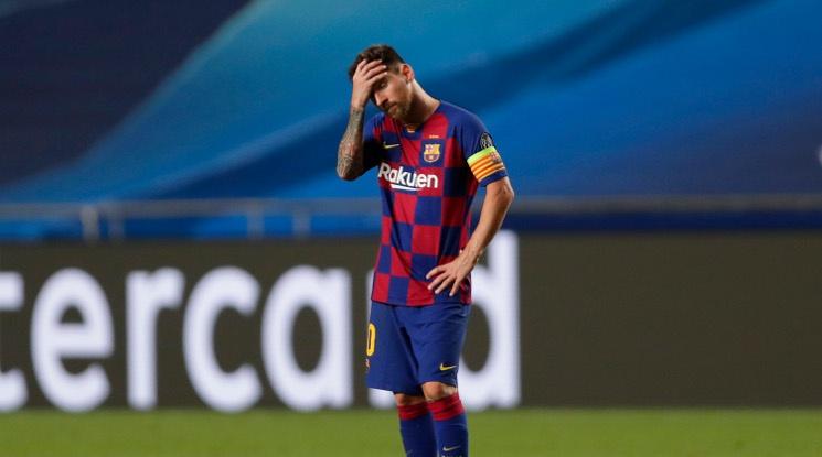 Меси не беше изпитвал такова унижение на футболния терен