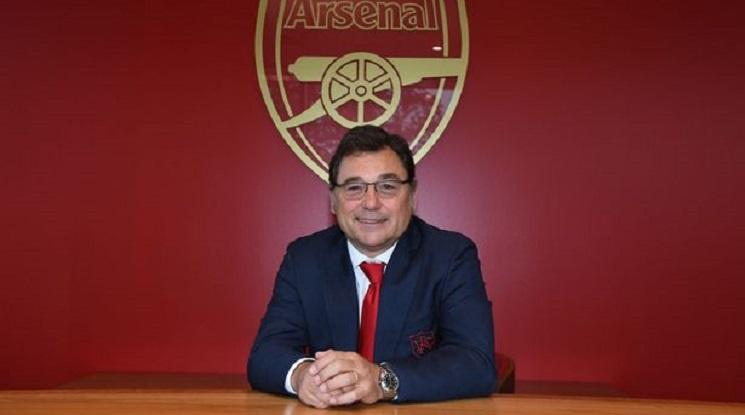 Раул Санлехи напусна ръководния пост в Арсенал