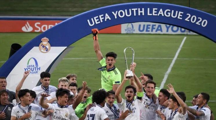 Реал Мадрид спечели Младежката Шампионска лига (видео)