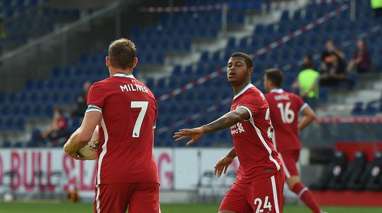 Залцбург 2-2 Ливърпул (репортаж)