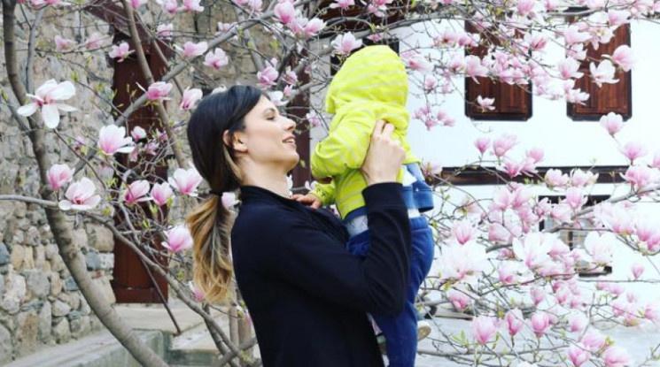 Пиронкова: Зная, че синът ми ме гледа и се гордее с мен
