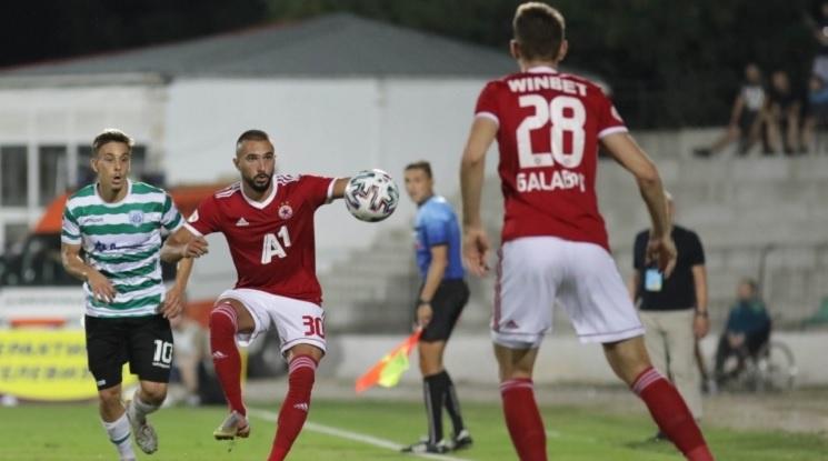 ЦСКА София изтръгна късно реми срещу Черно море във Варна