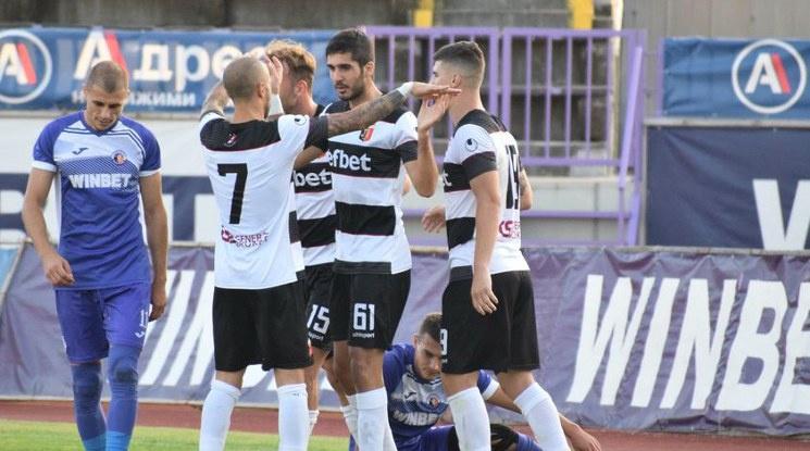 Локо Пловдив постигна категорична победа във Велико Търново