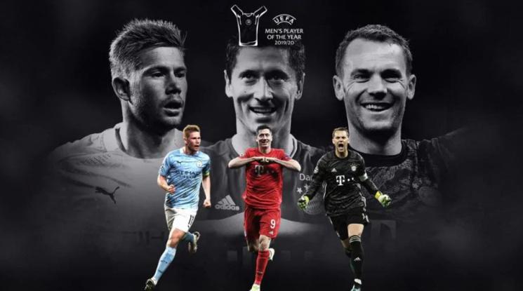 УЕФА обяви номинациите за Футболист на годината
