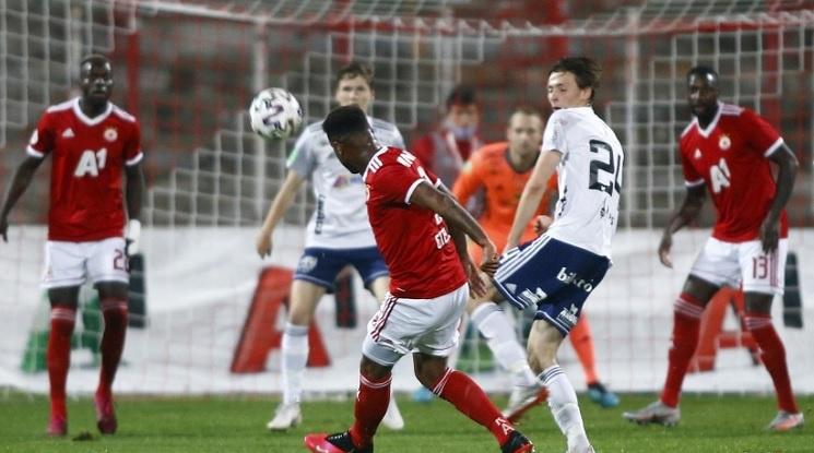 ЦСКА се справи с Б36 и запази мечтата си за групите на ЛЕ