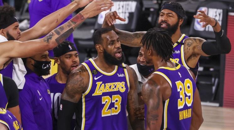 Лейкърс са отново на финал на НБА след десетгодишно прекъсване (видео)