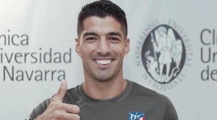 Луис Суарес с два гола и асистенция в дебюта си за Атлетико Мадрид (видео)